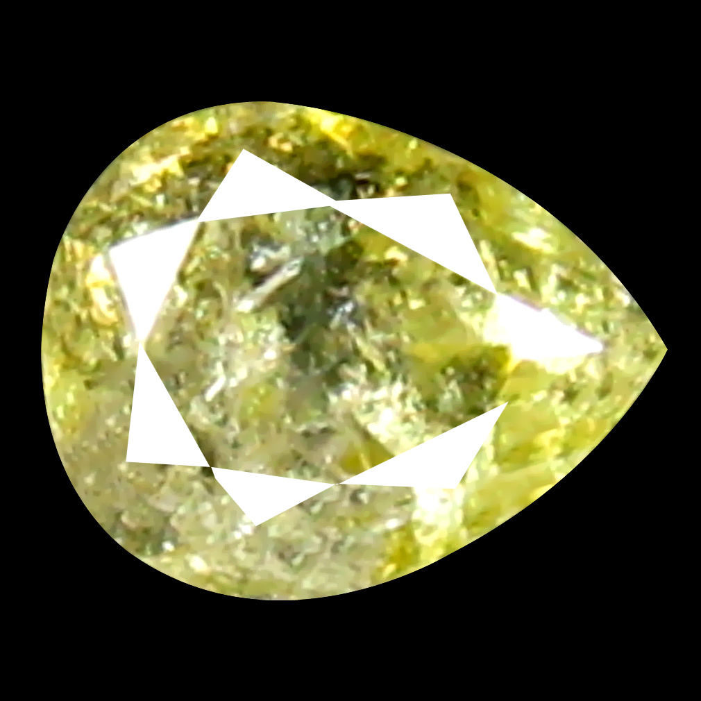 0.12 ct Fabulous Pear Cut (3 x 3 mm) 100% Natural (Un-Heated) Fancy Yellow Diamond Natural Gemstone