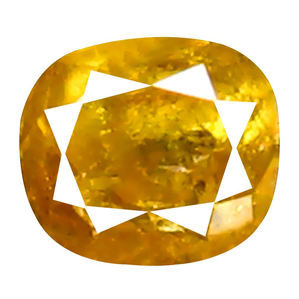 0.12 ct Impressive Oval Cut (3 x 2 mm) 100% Natural (Un-Heated) Fancy Yellow Diamond Natural Gemstone