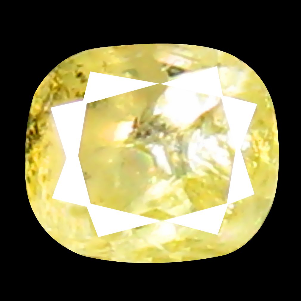 0.08 ct World class Oval Cut (3 x 2 mm) 100% Natural (Un-Heated) Fancy Yellow Diamond Natural Gemstone