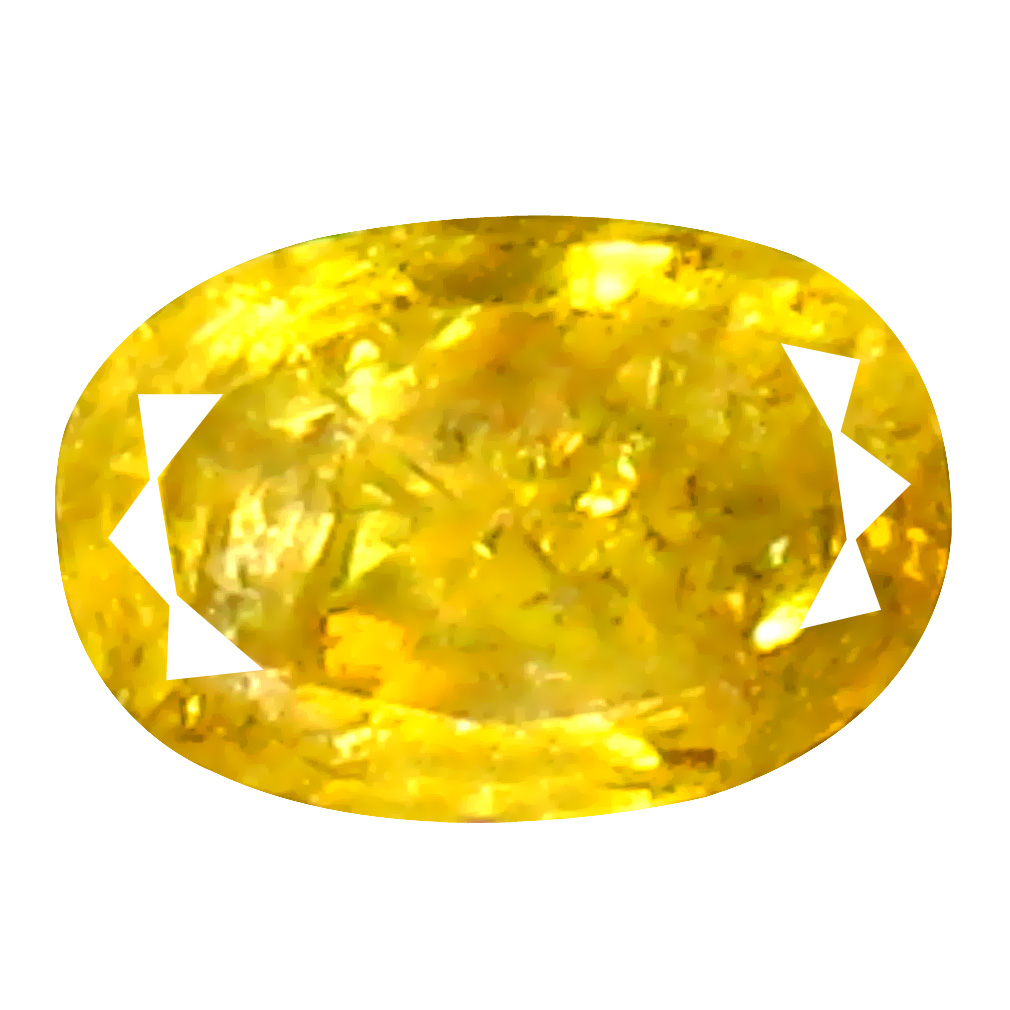 0.09 ct Magnificent fire Oval Cut (4 x 2 mm) 100% Natural (Un-Heated) Fancy Yellow Diamond Natural Gemstone