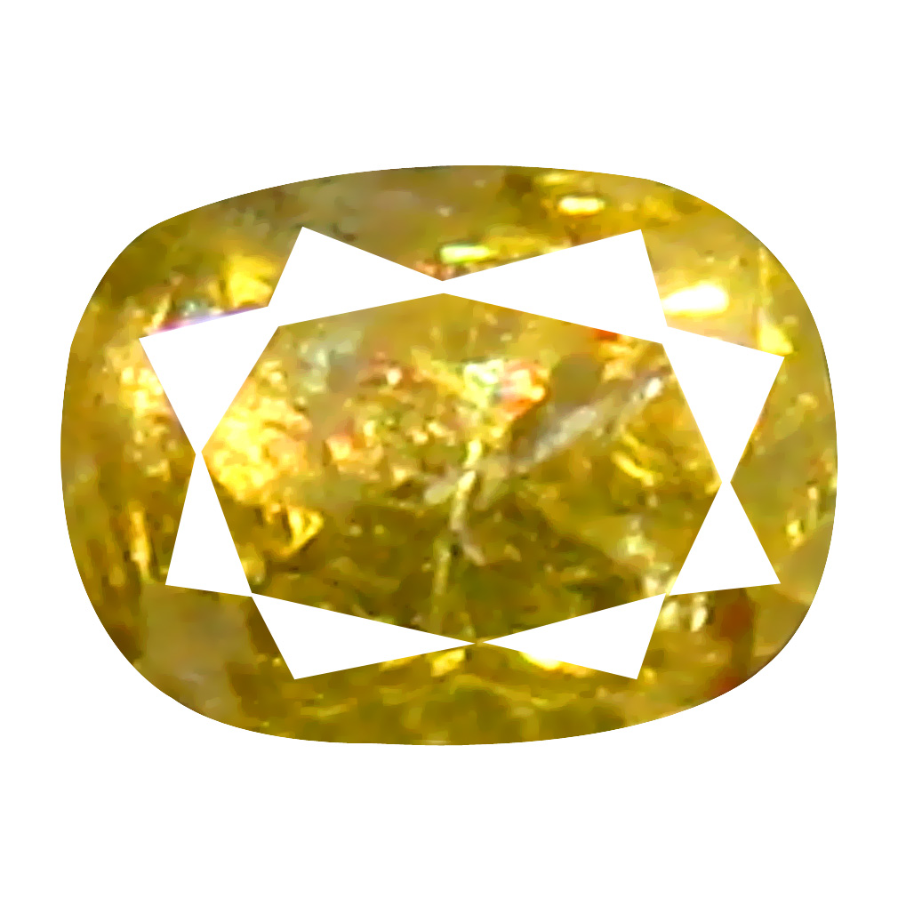 0.08 ct Incredible Oval Cut (3 x 2 mm) 100% Natural (Un-Heated) Fancy Yellow Diamond Natural Gemstone