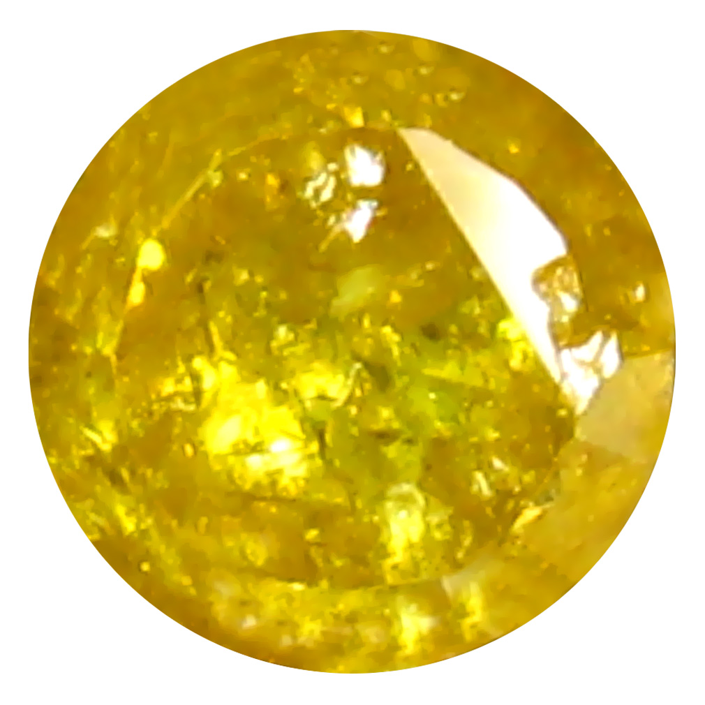 0.54 ct Incomparable Oval Cut (5 x 4 mm) 100% Natural (Un-Heated) Fancy Yellow Diamond Natural Gemstone