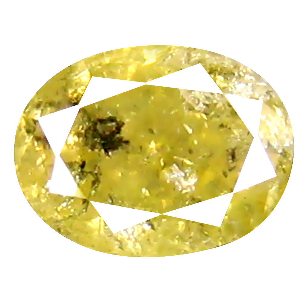 0.77 ct Terrific Oval Cut (6 x 4 mm) 100% Natural (Un-Heated) Fancy Yellow Diamond Natural Gemstone