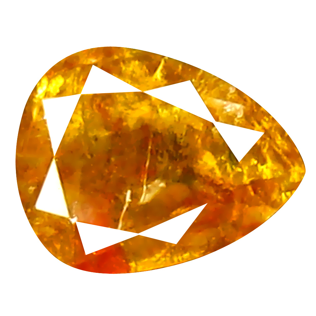 0.35 ct Shimmering Pear Cut (5 x 4 mm) 100% Natural (Un-Heated) Fancy Yellow Diamond Natural Gemstone