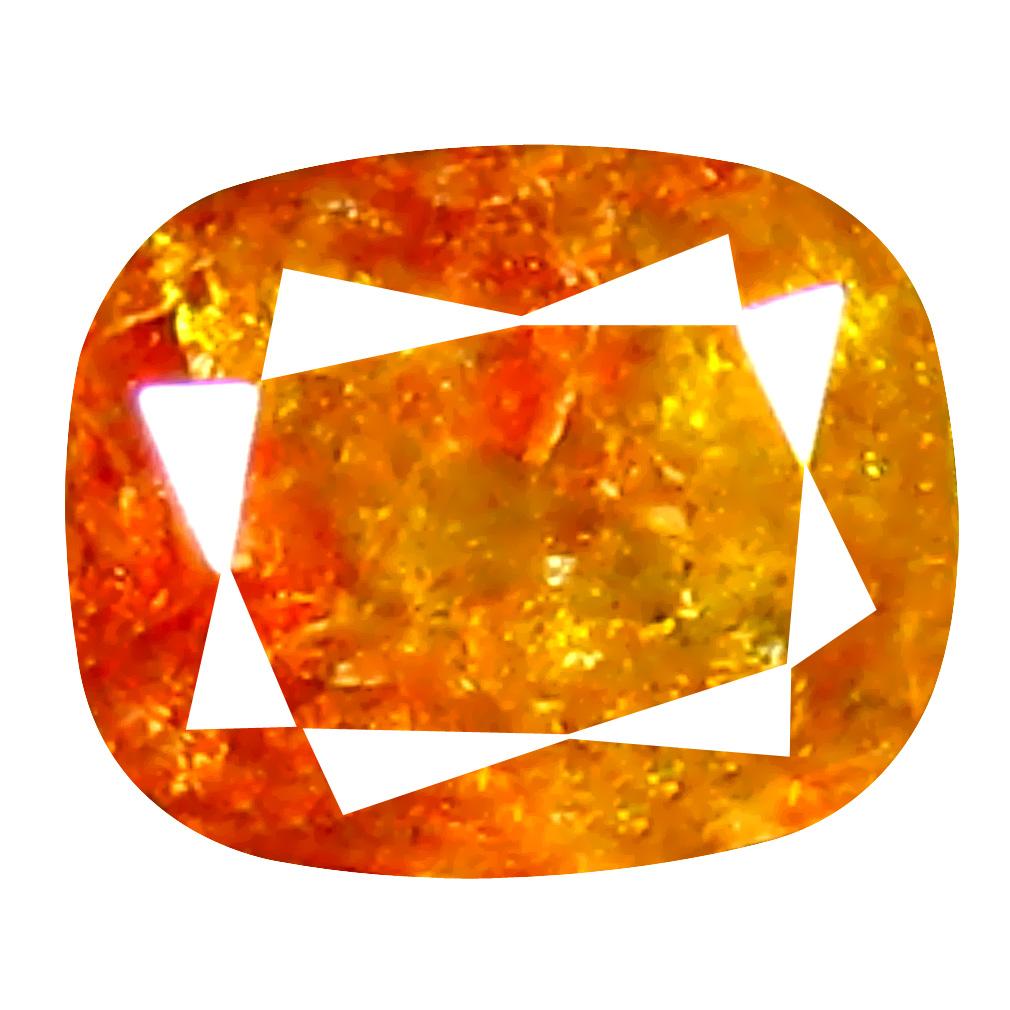 0.42 ct Pretty Cushion Cut (5 x 4 mm) 100% Natural (Un-Heated) Fancy Yellowish Brown Diamond Natural Gemstone