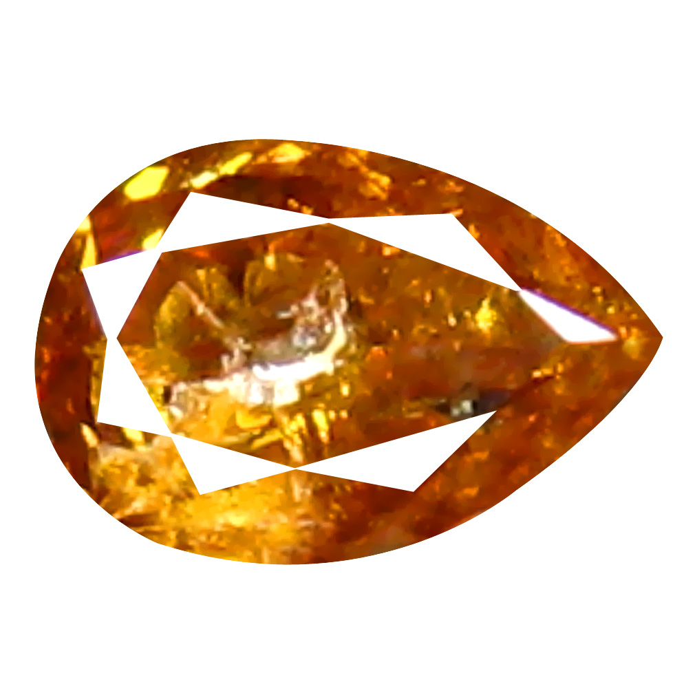 0.22 ct Phenomenal Pear Cut (4 x 3 mm) 100% Natural (Un-Heated) Fancy Yellow Diamond Natural Gemstone