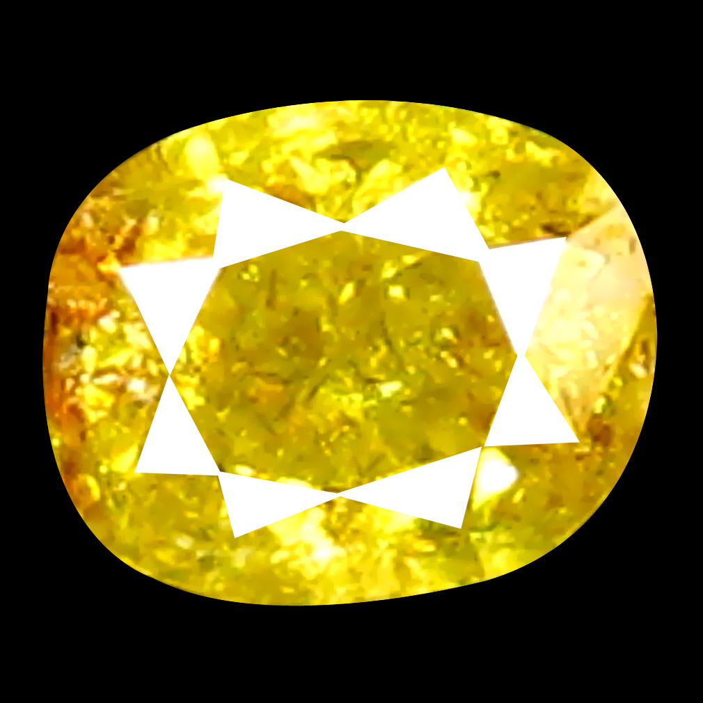 0.17 ct Mesmerizing Cushion Cut (3 x 3 mm) 100% Natural (Un-Heated) Fancy Yellow Diamond Natural Gemstone