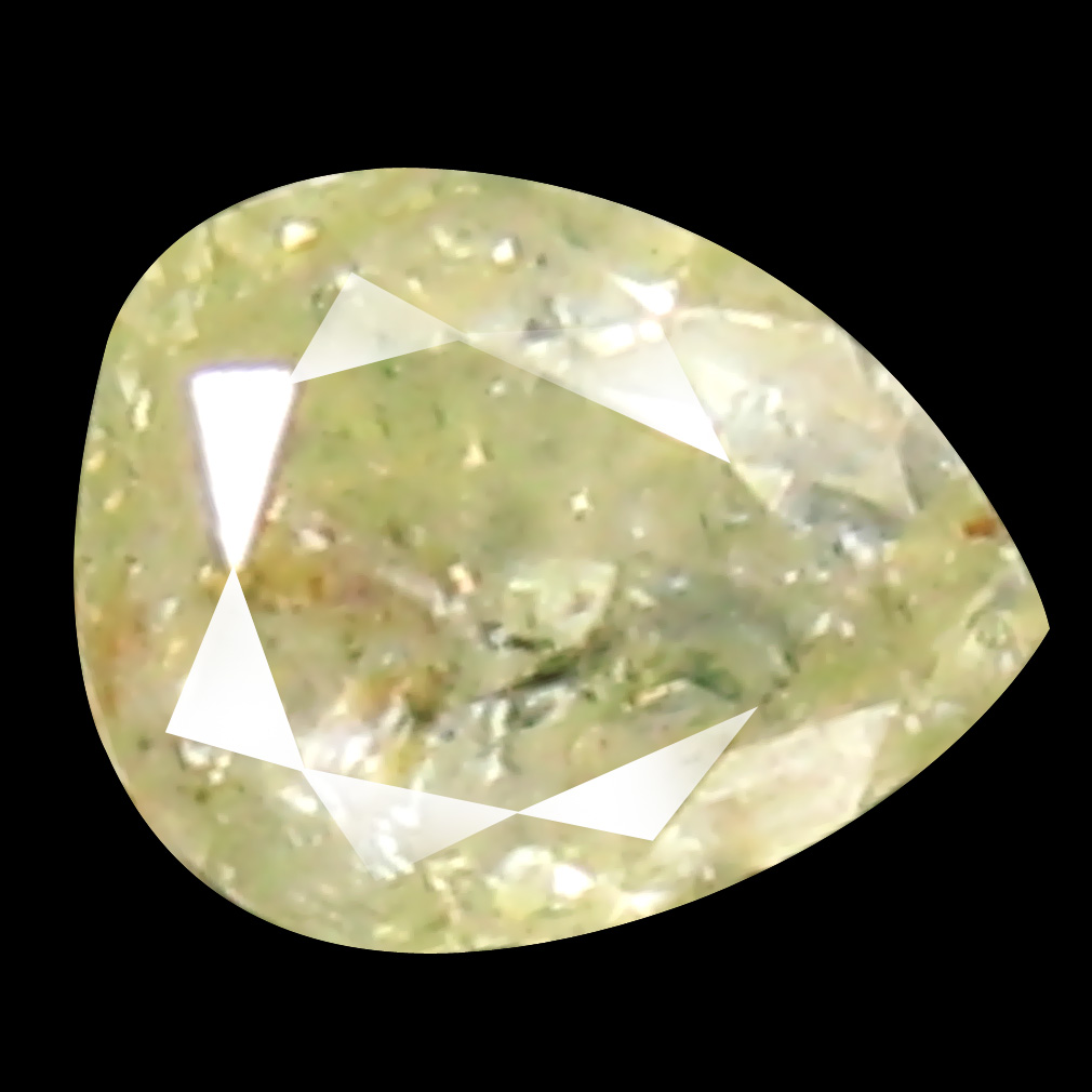 0.13 ct Mesmerizing Pear Cut (3 x 3 mm) 100% Natural (Un-Heated) Fancy Yellow Diamond Natural Gemstone