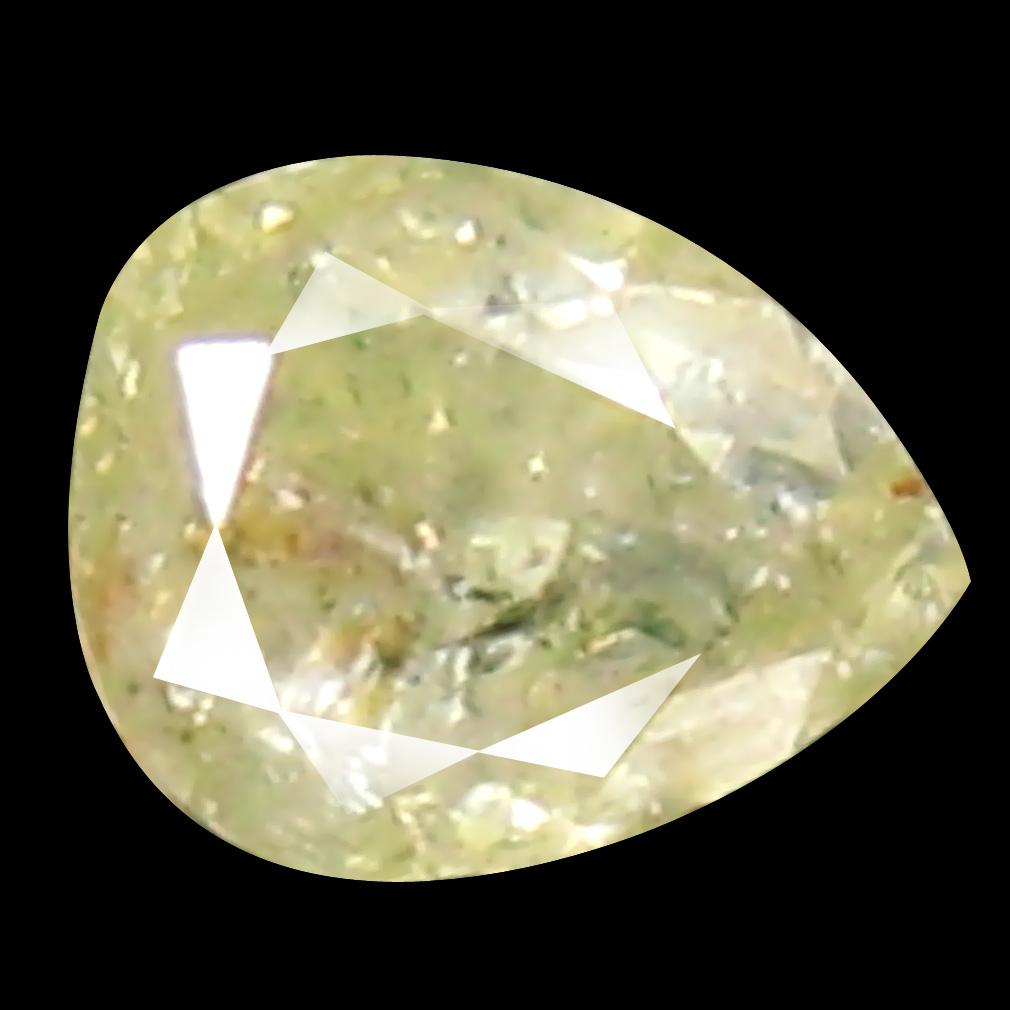 0.13 ct Mesmerizing Pear Cut (3 x 3 mm) 100% Natural (Un-Heated) Fancy Yellow Diamond Natural Gemstone