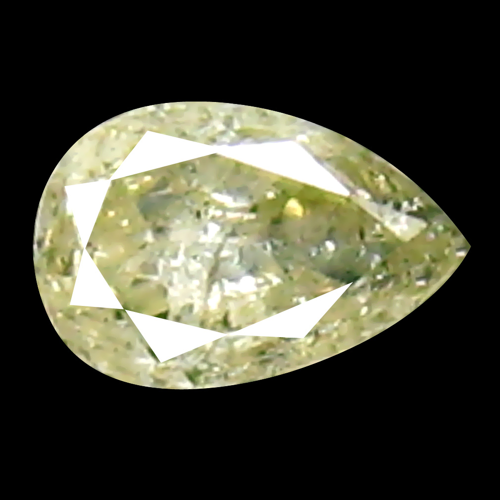 0.08 ct Exquisite Pear Cut (3 x 2 mm) 100% Natural (Un-Heated) Fancy Yellow Diamond Natural Gemstone