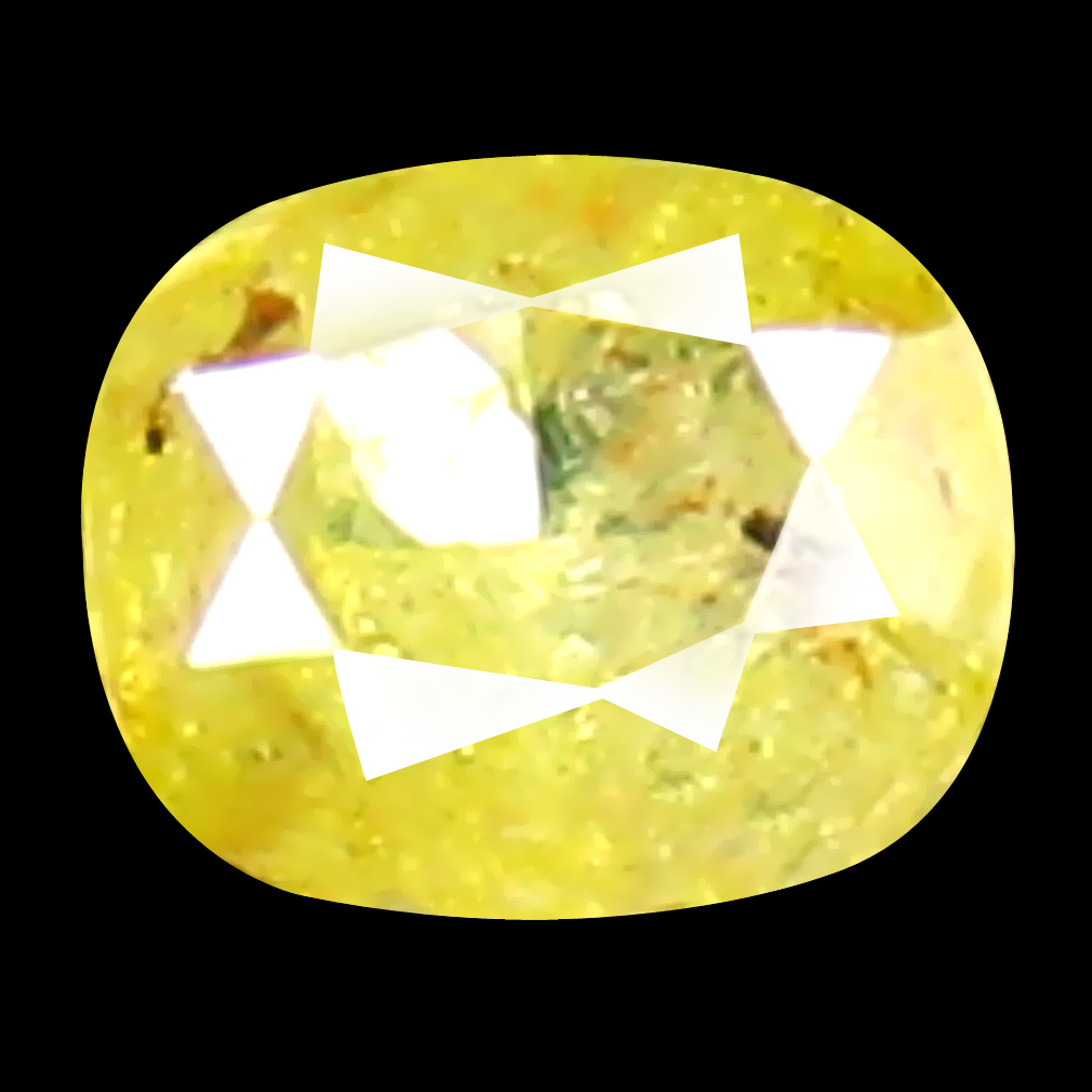0.12 ct Shimmering Oval Cut (3 x 3 mm) 100% Natural (Un-Heated) Fancy Yellow Diamond Natural Gemstone