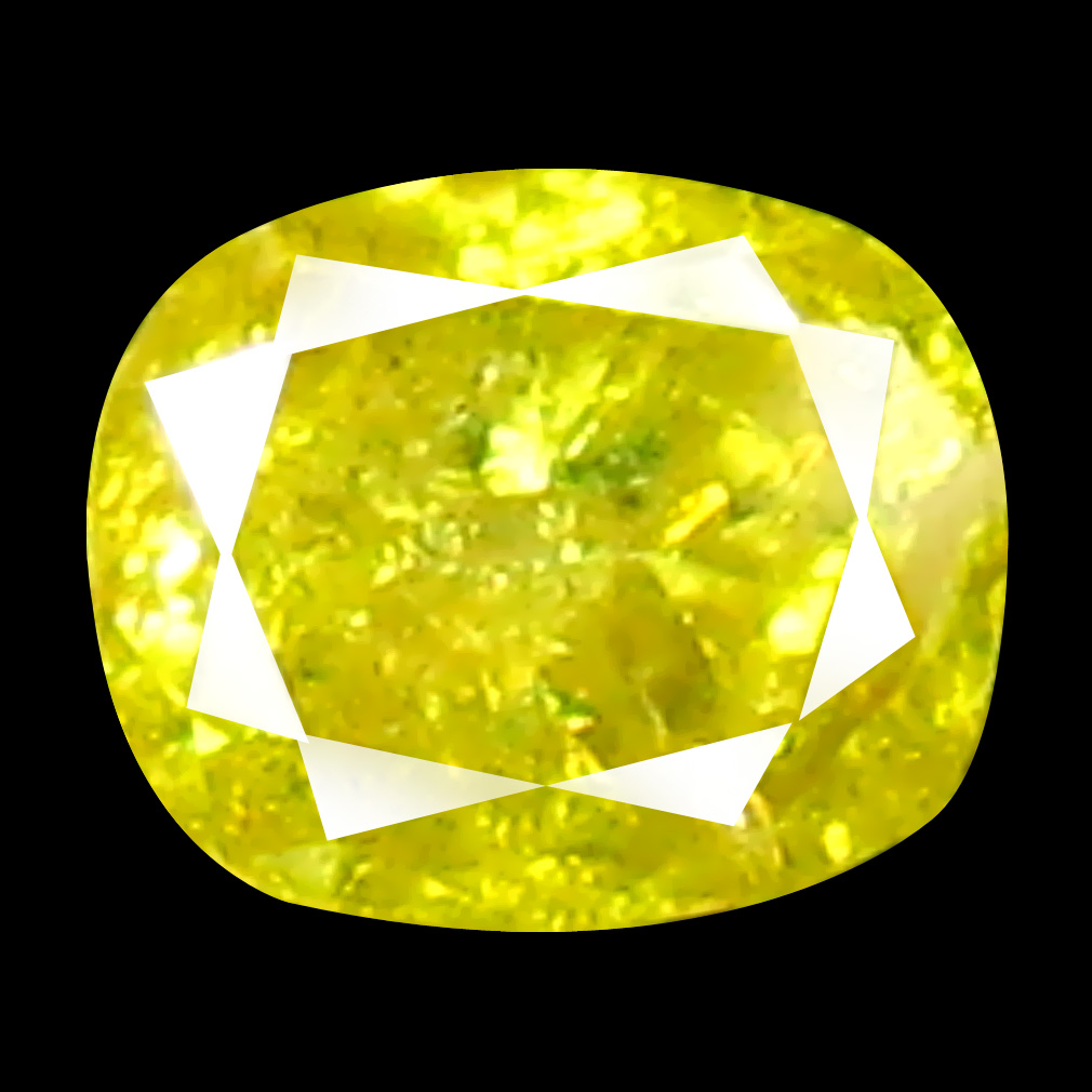 0.11 ct Resplendent Oval Cut (3 x 3 mm) 100% Natural (Un-Heated) Fancy Yellow Diamond Natural Gemstone