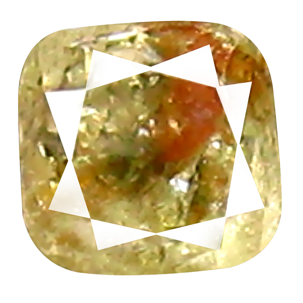 0.10 ct Impressive Cushion Cut (3 x 2 mm) 100% Natural (Un-Heated) Brownish Yellow Diamond Natural Gemstone