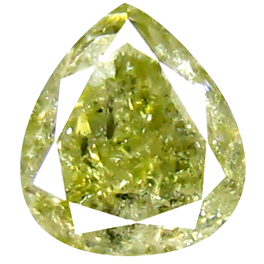 0.37 ct Incomparable Pear Cut (5 x 4 mm) 100% Natural (Un-Heated) Fancy Yellow Diamond Natural Gemstone