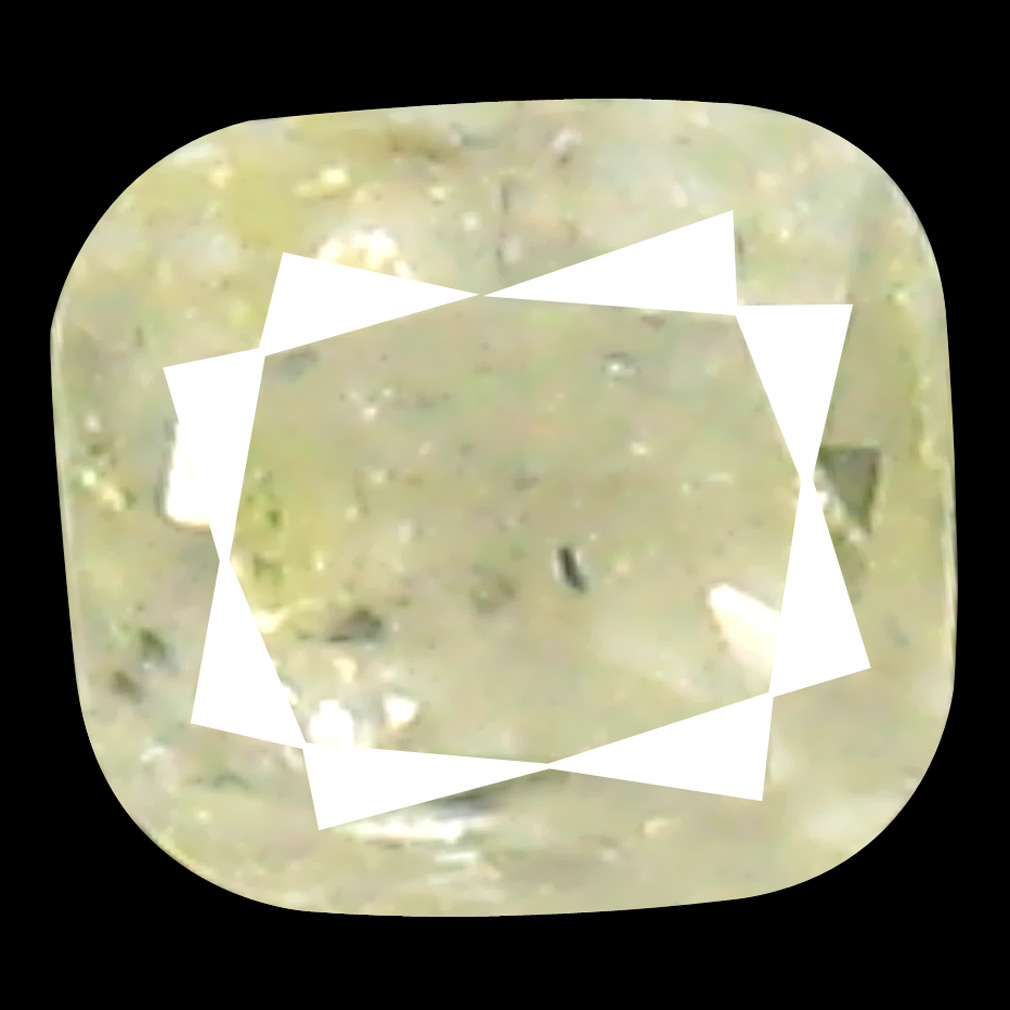 0.12 ct Fantastic Cushion Cut (3 x 2 mm) 100% Natural (Un-Heated) Fancy Light Yellow Diamond Natural Gemstone