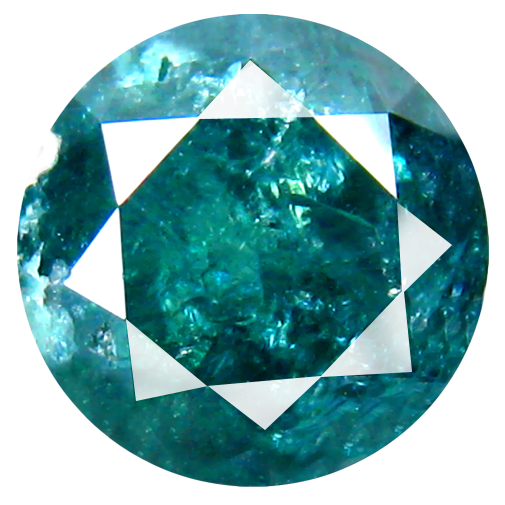 2.64 ct Significant AAA Round Shape (8 x 9 mm) Blue Blue Diamond Natural Loose Stone