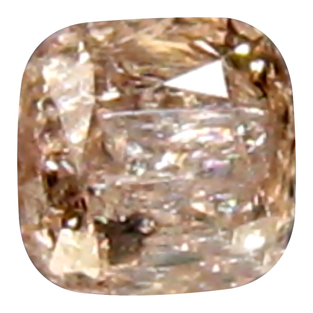 0.16 ct RESPLENDENT CUSHION (3 X 3 MM) 100% NATURAL (UN-HEATED) AUSTRALIA PINK DIAMOND LOOSE GEMSTONE