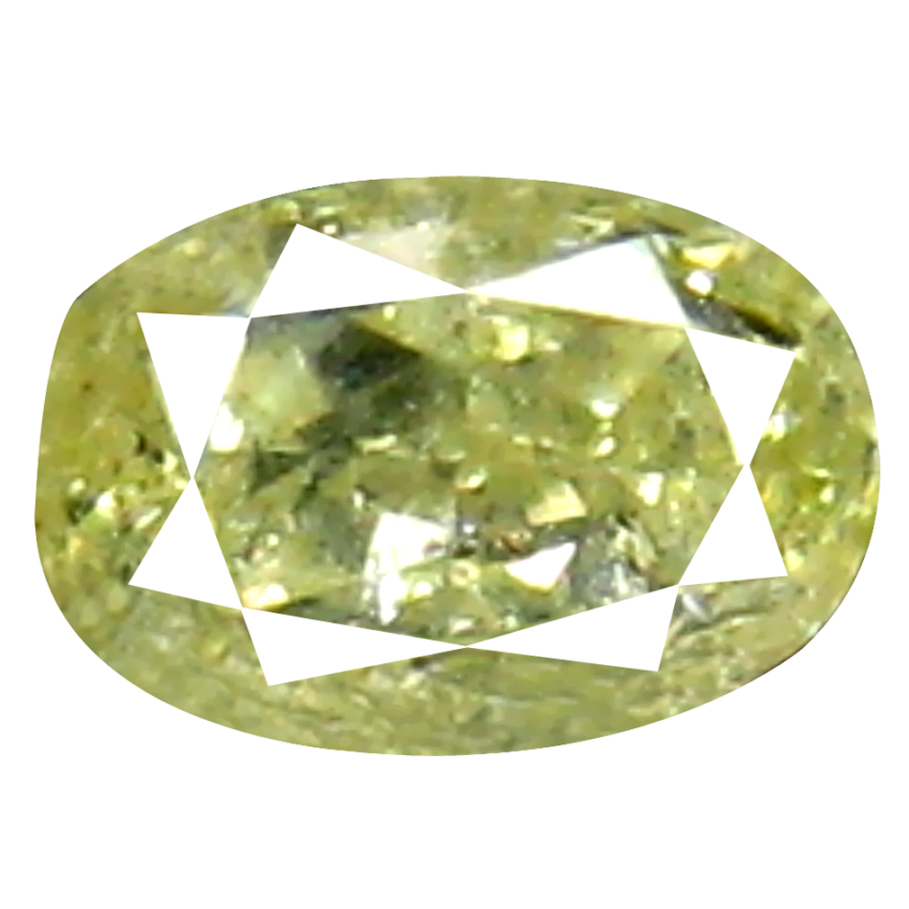 0.12 ct Phenomenal Oval Cut (4 x 2 mm) 100% Natural (Un-Heated) Fancy Yellow Diamond Natural Gemstone