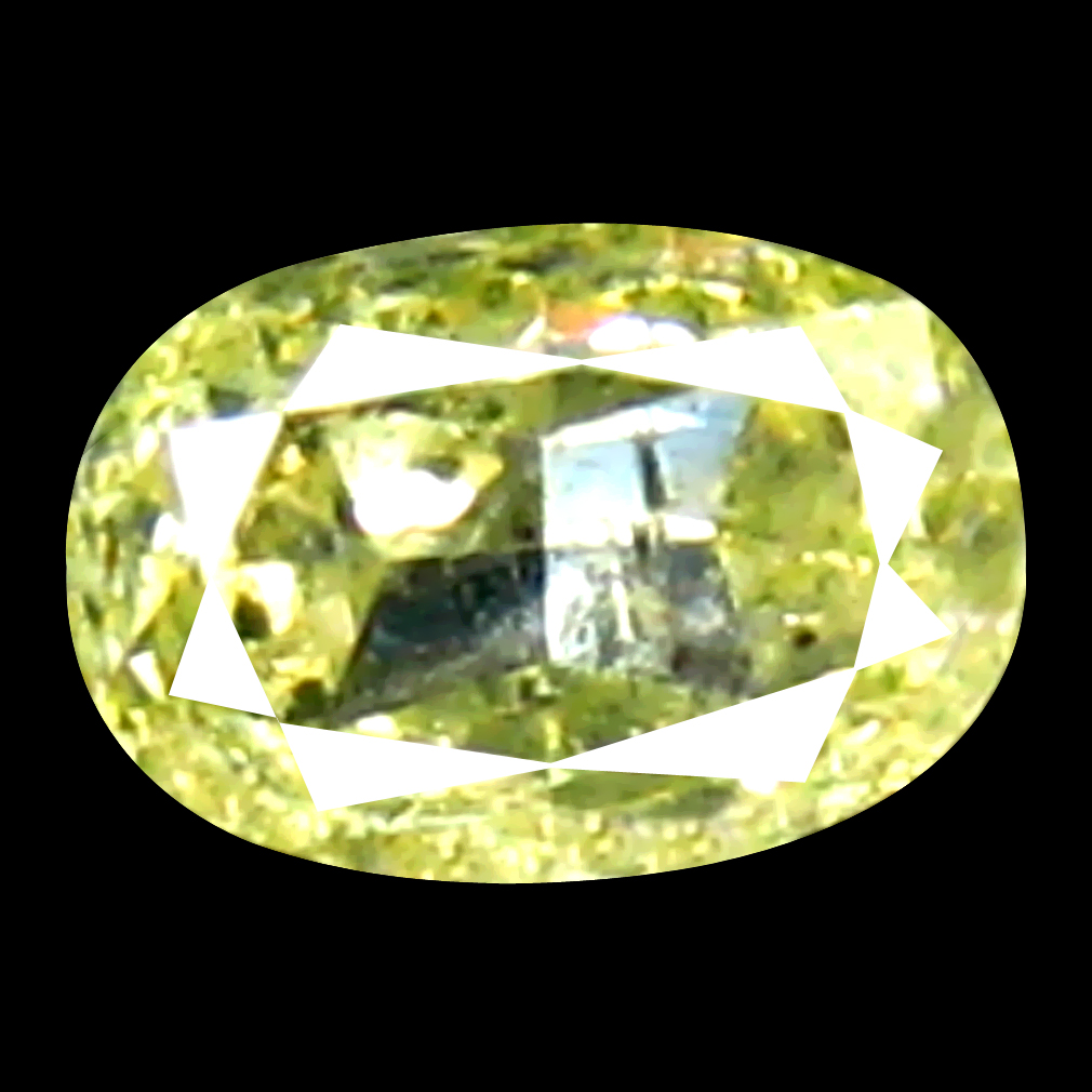 0.10 ct Unbelievable Oval Cut (3 x 2 mm) 100% Natural (Un-Heated) Fancy Yellow Diamond Natural Gemstone