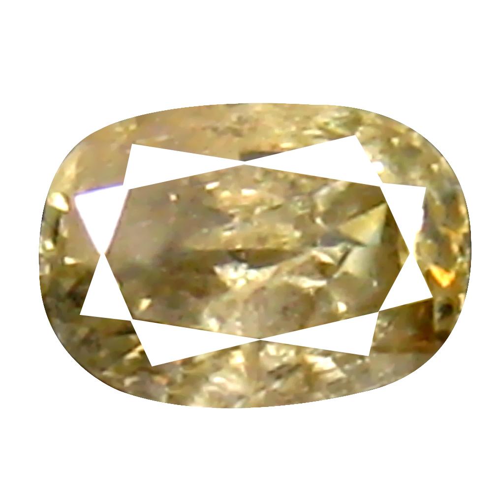 0.12 ct Superior Cushion Cut (3 x 2 mm) 100% Natural (Un-Heated) Fancy Yellow Diamond Natural Gemstone