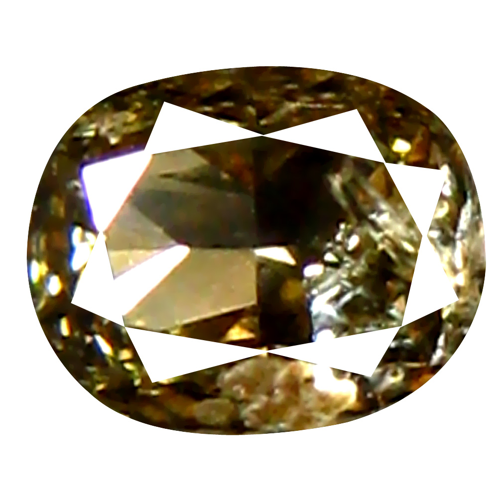 0.11 ct Impressive Cushion Cut (3 x 3 mm) 100% Natural (Un-Heated) Fancy Brown Diamond Natural Gemstone