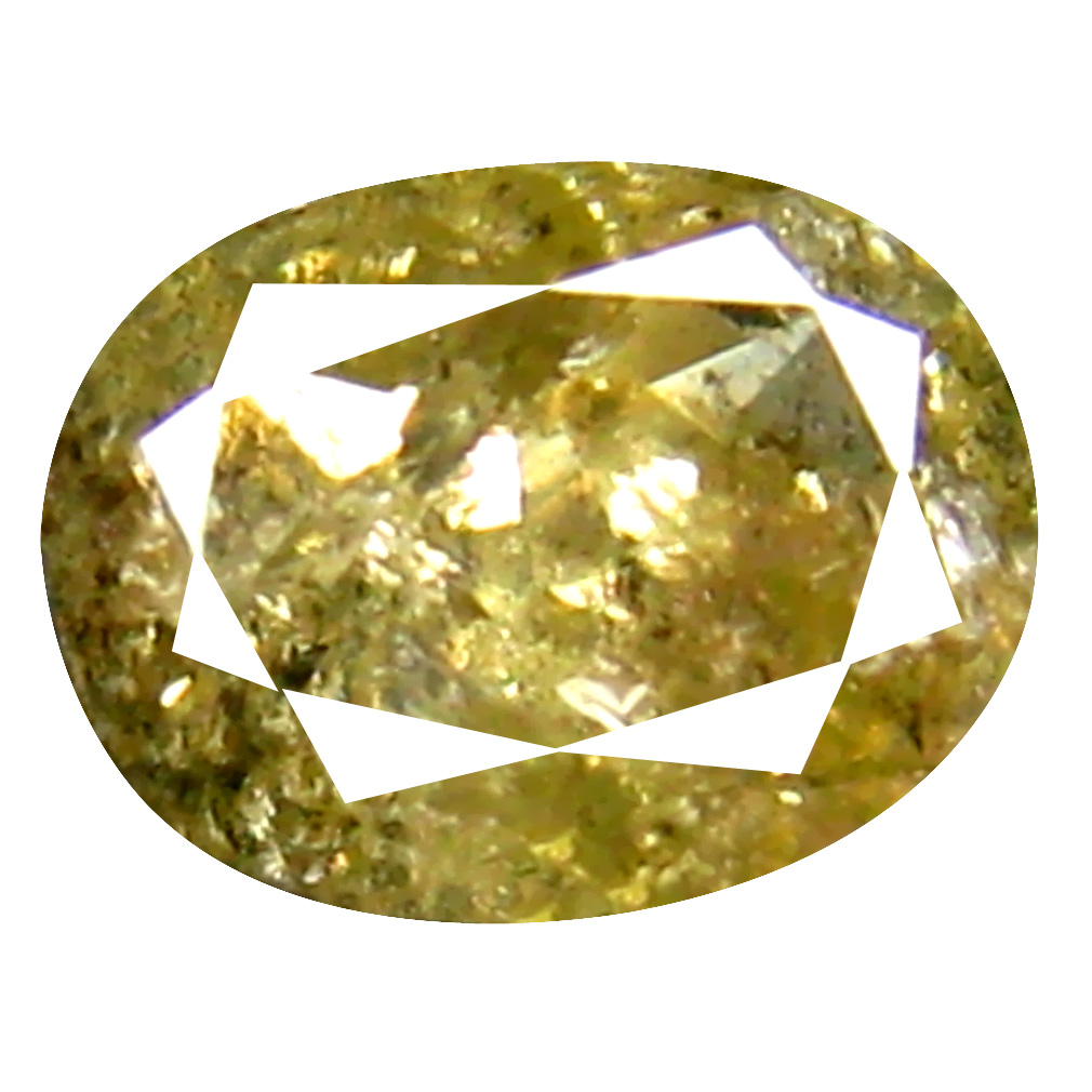 0.32 ct Best Oval Cut (4 x 3 mm) 100% Natural (Un-Heated) Fancy Yellow Diamond Natural Gemstone