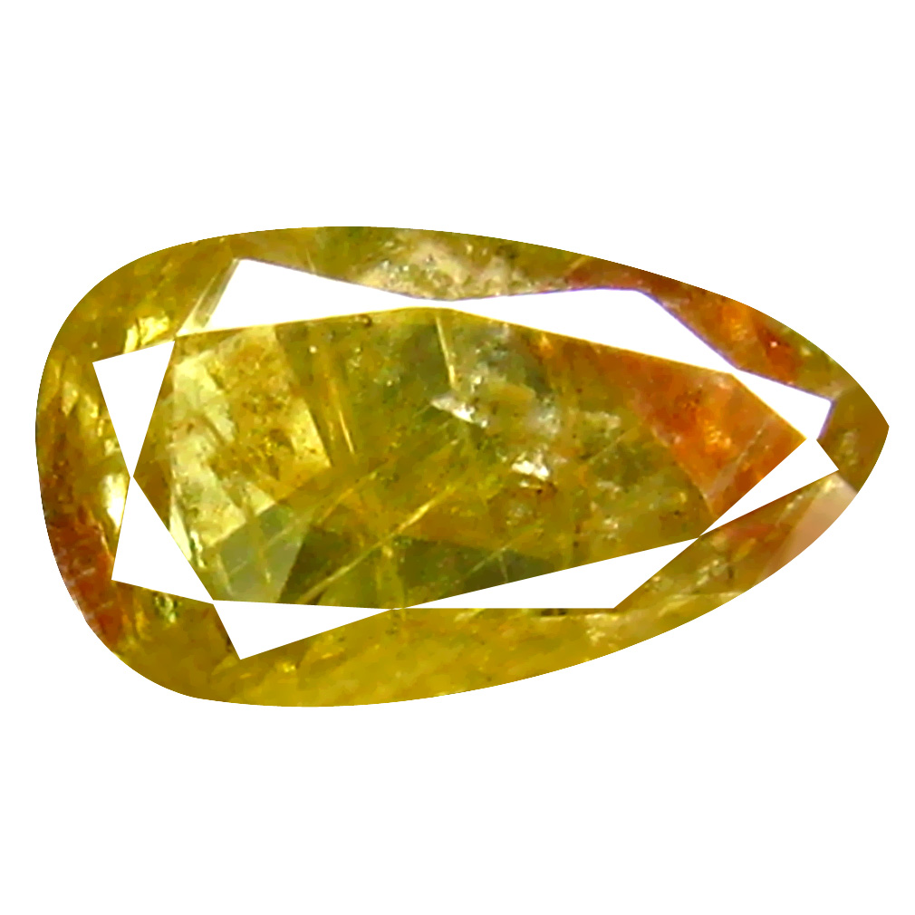 0.32 ct Supreme Pear Cut (6 x 3 mm) 100% Natural (Un-Heated) Fancy Yellow Diamond Natural Gemstone