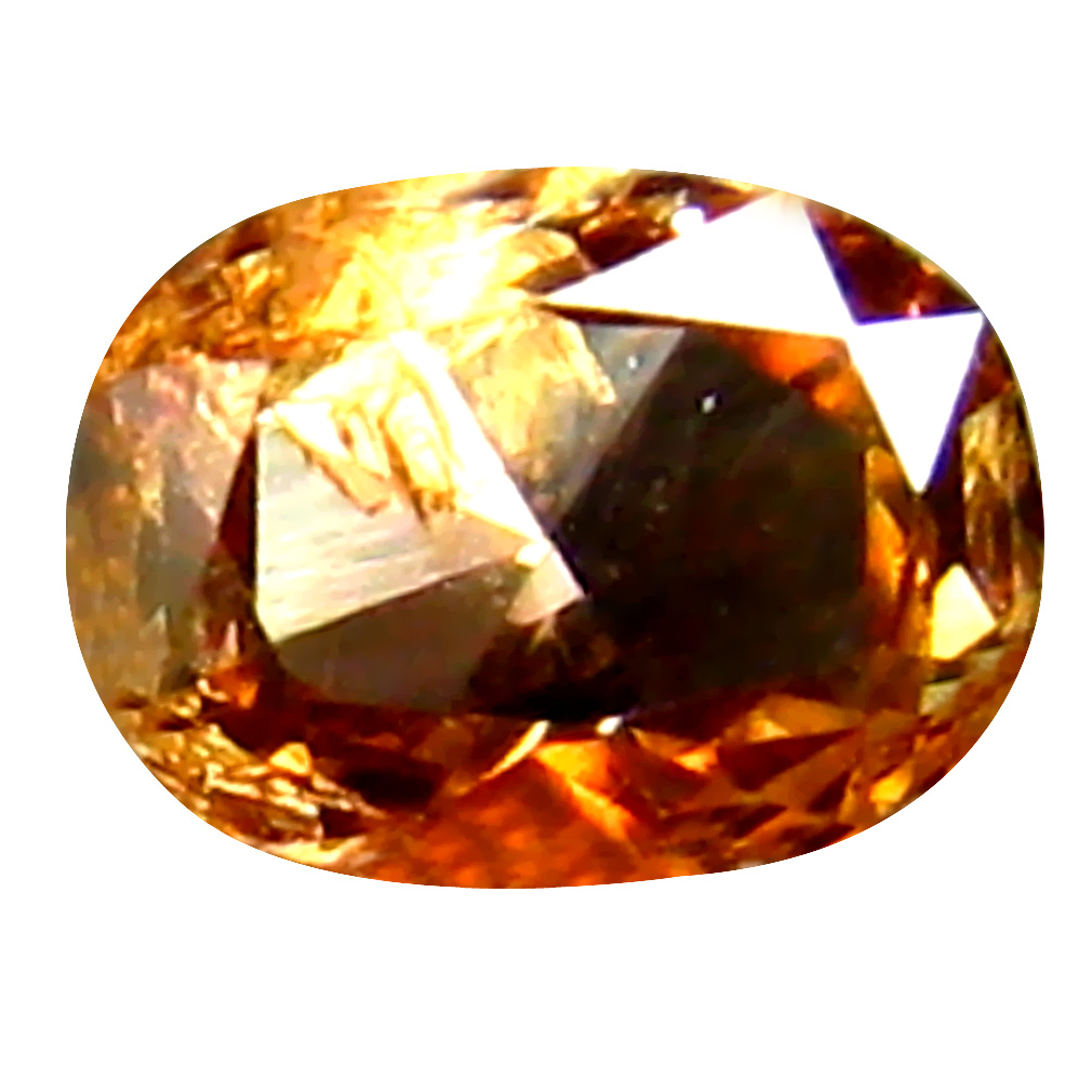 0.13 ct Spectacular Oval Cut (4 x 3 mm) 100% Natural (Un-Heated) Fancy Brown Diamond Natural Gemstone