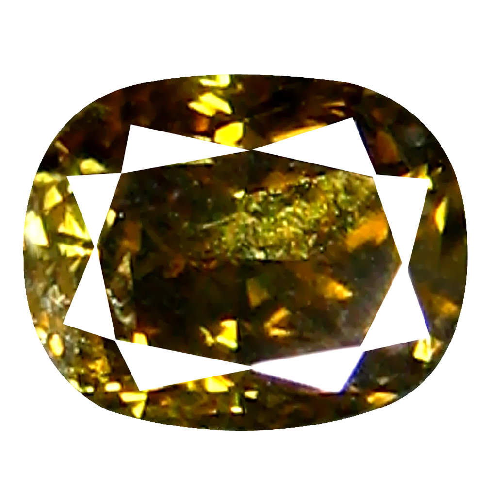 0.12 ct Shimmering Oval Cut (3 x 3 mm) 100% Natural (Un-Heated) Fancy Brown Diamond Natural Gemstone