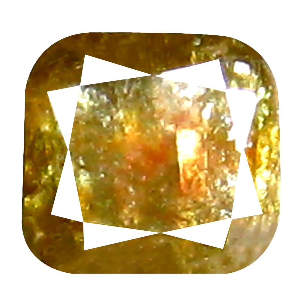 0.25 ct Elegant Cushion Cut (3 x 3 mm) 100% Natural (Un-Heated) Fancy Brown Diamond Natural Gemstone