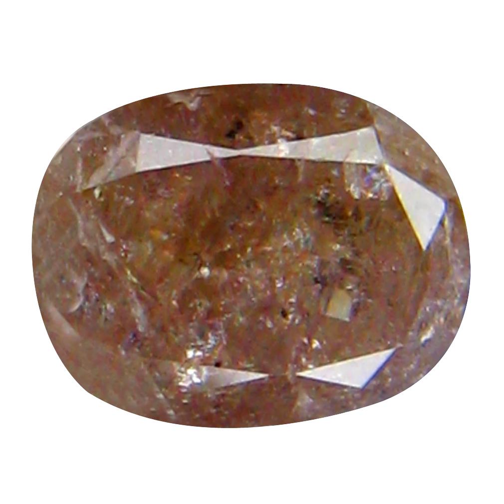 0.57 ct DAZZLING OVAL CUT (5 X 4 MM) CONGO FANCY LIGHT PINK DIAMOND NATURAL GEMSTONE