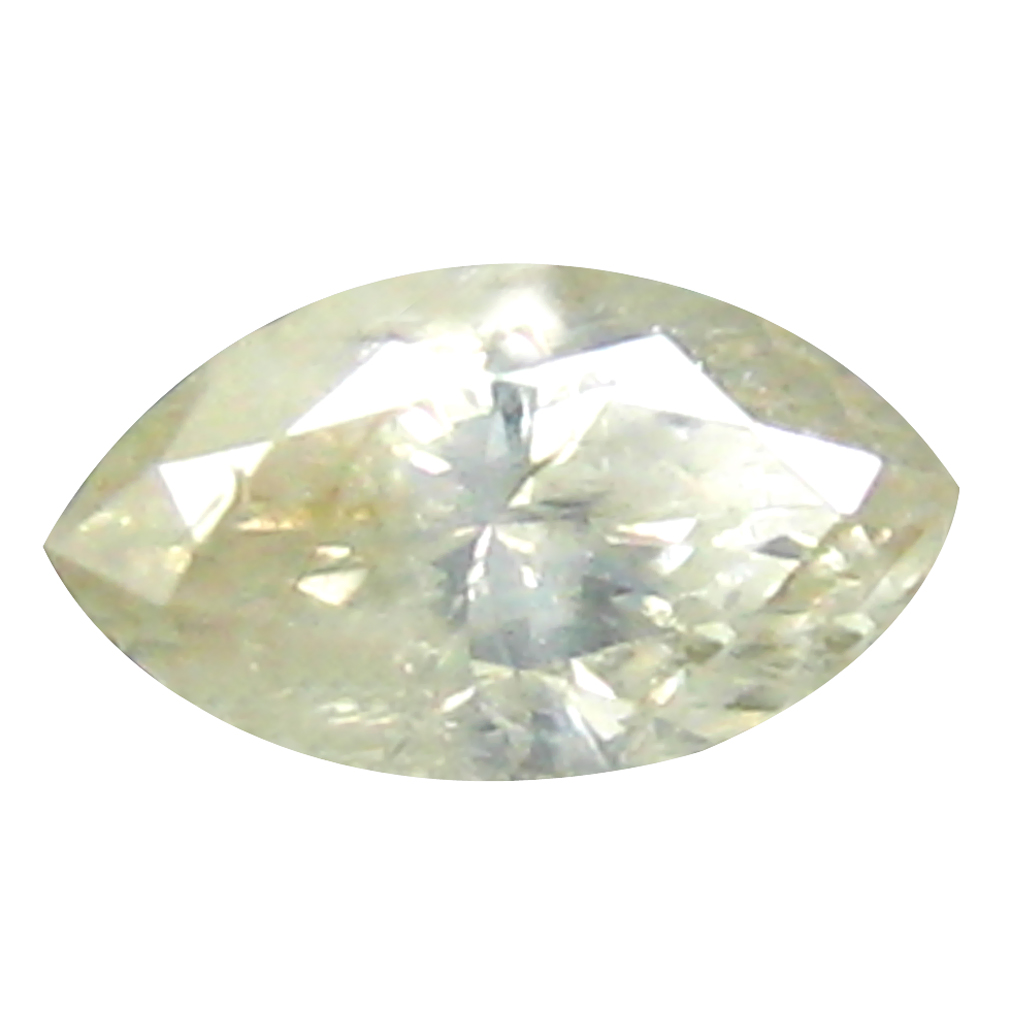 0.17 ct FABULOUS MARQUISE CUT (5 X 3 MM) CONGO COLORLESS DIAMOND NATURAL GEMSTONE