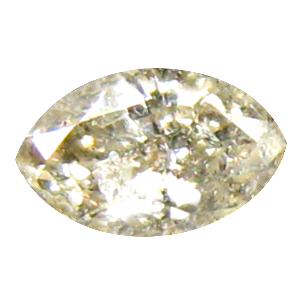 0.14 ct FLASHING MARQUISE CUT (4 X 3 MM) CONGO FANCY BROWN DIAMOND NATURAL GEMSTONE