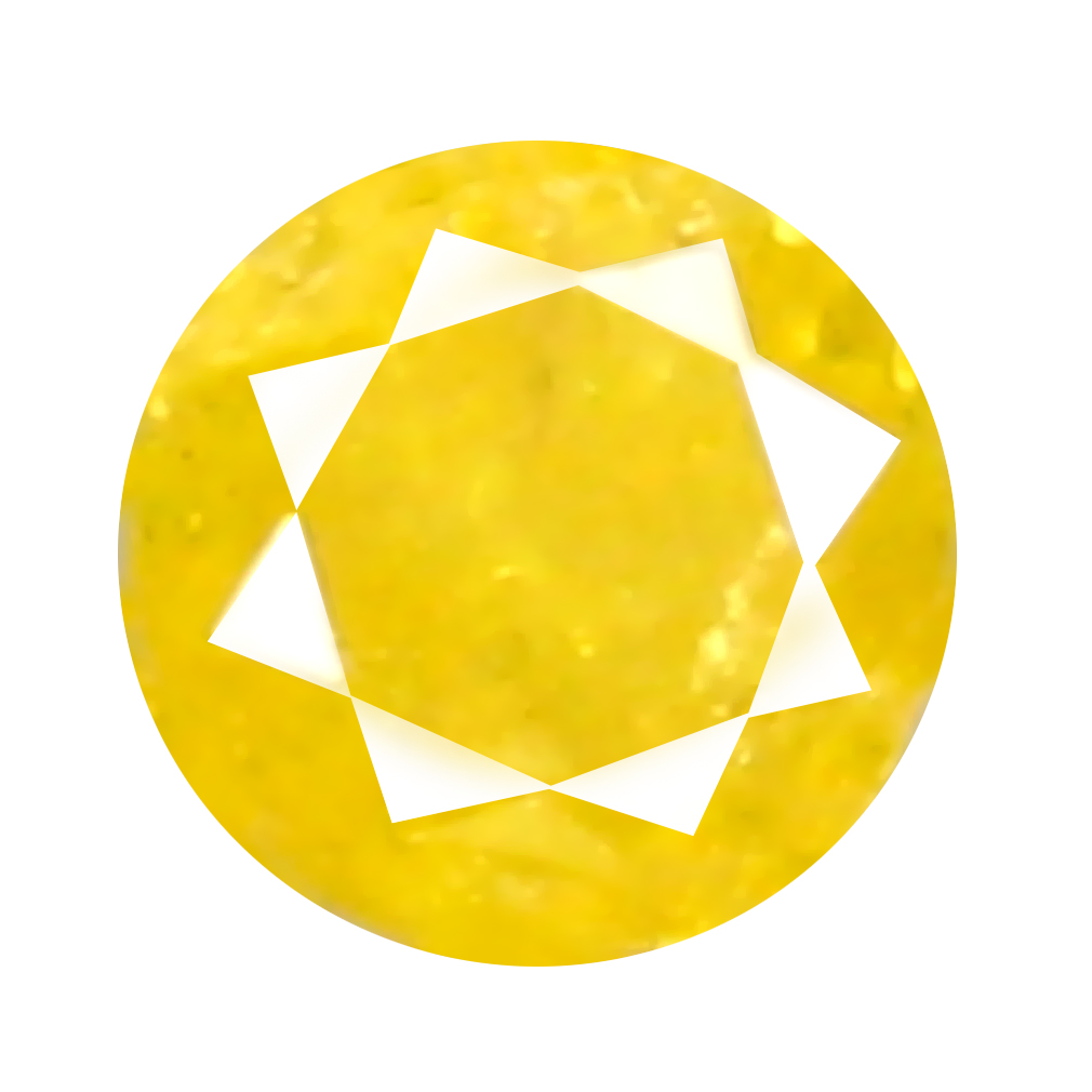 0.11 ct Tremendous Round Cut (3 x 3 mm) 100% Natural (Un-Heated) Fancy Yellow Diamond Natural Gemstone