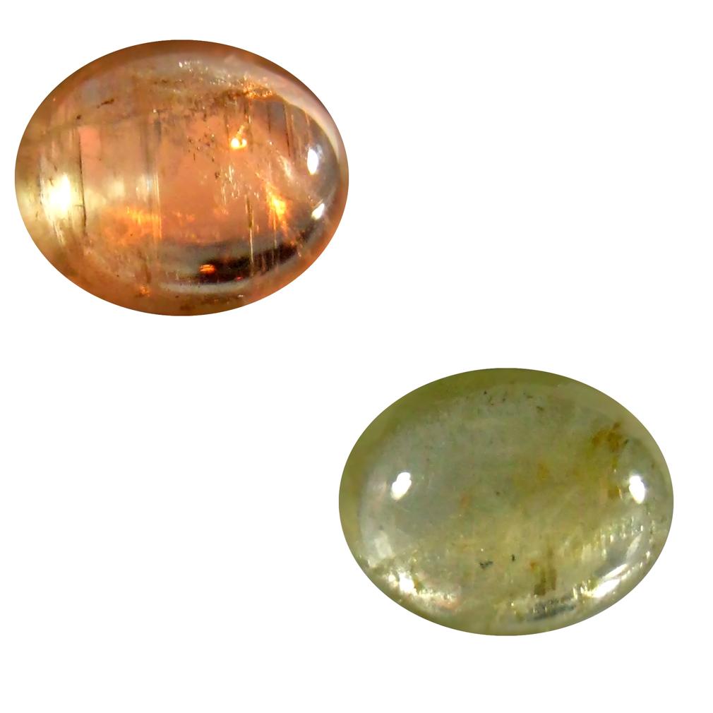 2.28 ct Valuable Oval Cabochon Shape (10 x 8 mm) Un-Heated Color Change Diaspore Natural Gemstone