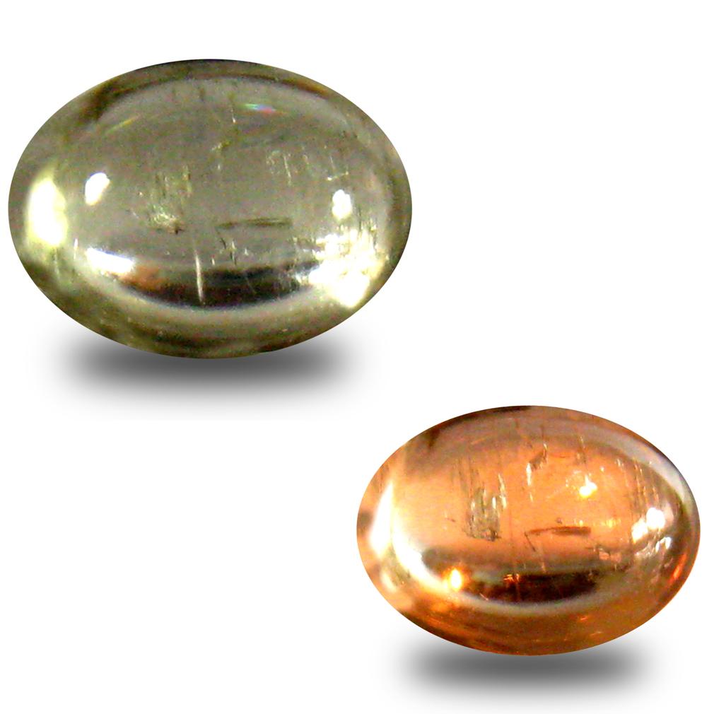 1.56 ct Gorgeous Oval Cabochon Shape (8 x 6 mm) Un-Heated Color Change Diaspore Natural Gemstone
