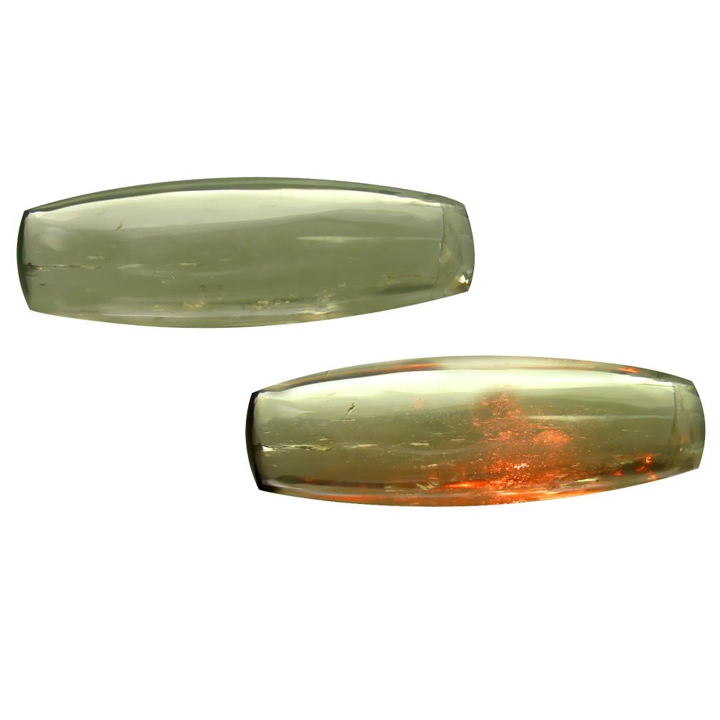 37.23 ct Amazing Cushion Cabochon Shape (35 x 11 mm) Un-Heated Color Change Diaspore Natural Gemstone