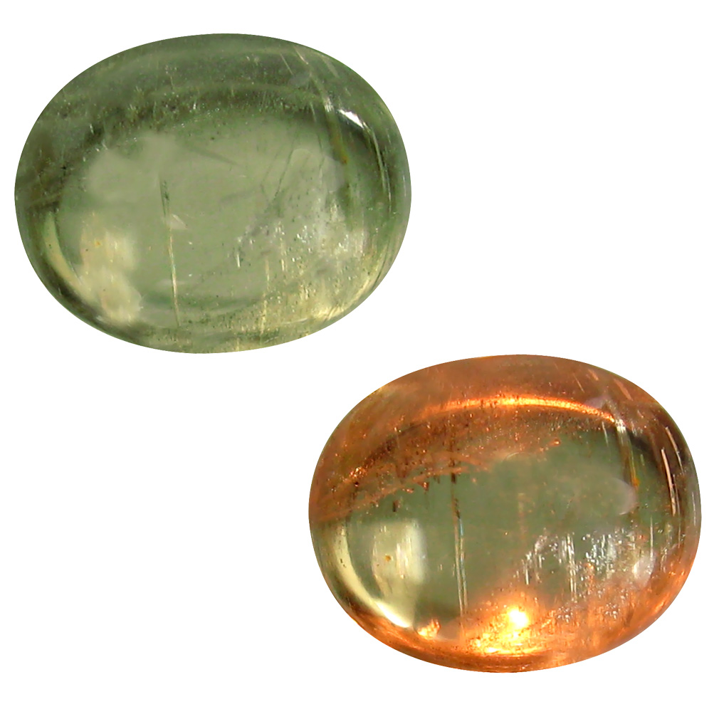 4.69 ct Eye-opening Oval Cabochon Shape (11 x 9 mm) Un-Heated Color Change Diaspore Natural Gemstone