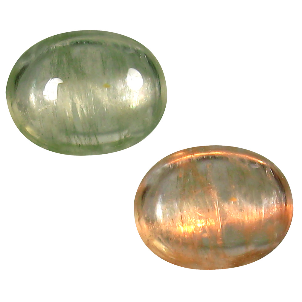 1.82 ct Attractive Oval Cabochon Shape (9 x 7 mm) Un-Heated Color Change Diaspore Natural Gemstone