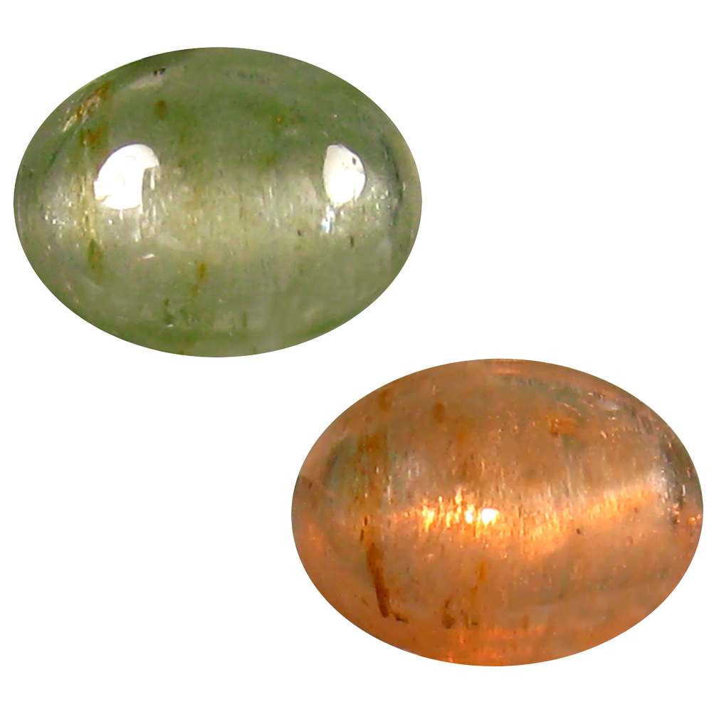 1.27 ct Grand looking Oval Cabochon Shape (8 x 6 mm) Un-Heated Color Change Diaspore Natural Gemstone