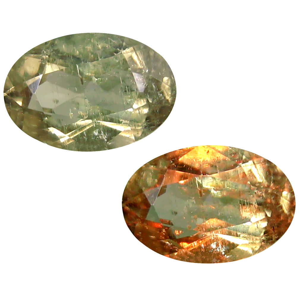 1.98 ct Oval Cut (10 x 7 mm) Turkish Color Change Diaspore Natural Loose Gemstone