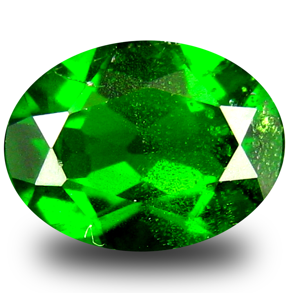 1.95 ct AAA+ Marvelous Oval Shape (9 x 7 mm) Green Chrome Diopside Natural Gemstone