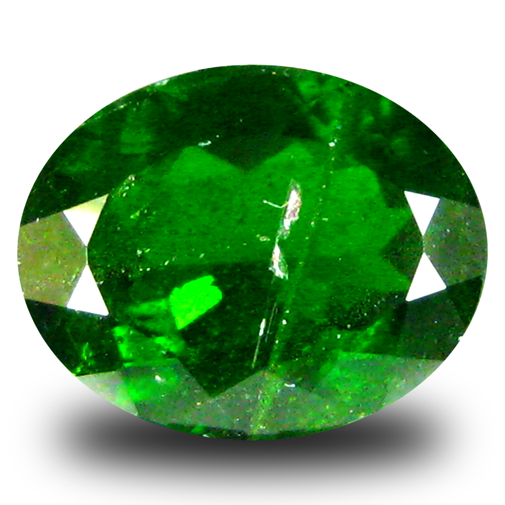 3.18 ct  Tremendous Oval Shape (10 x 8 mm) Green Chrome Diopside Natural Gemstone