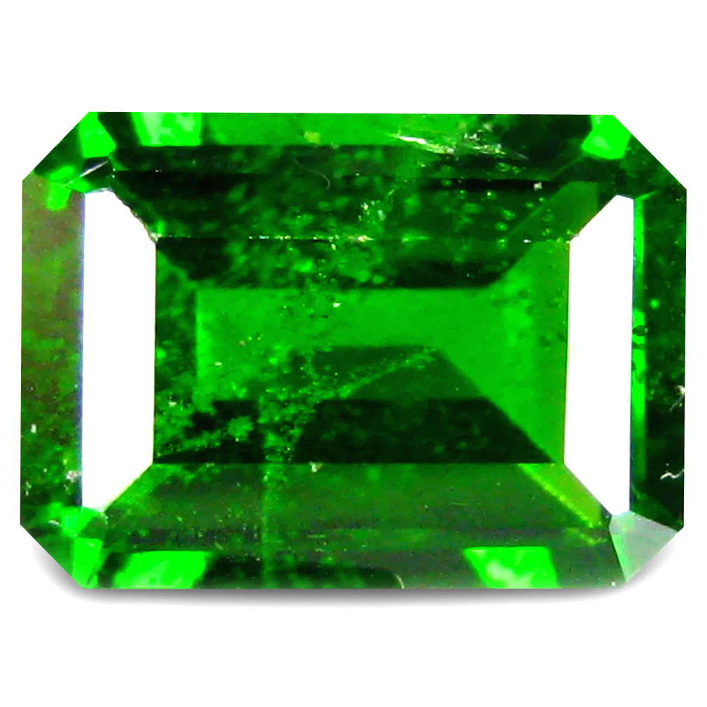 1.15 ct  Stunning Octagon Shape (7 x 5 mm) Green Chrome Diopside Natural Gemstone
