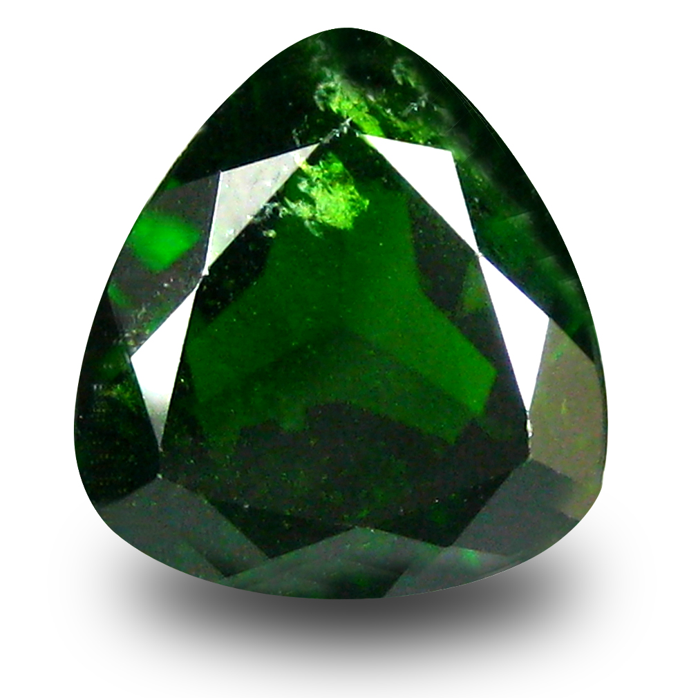 2.58 ct  Attractive Trillion Shape (9 x 9 mm) Green Chrome Diopside Natural Gemstone