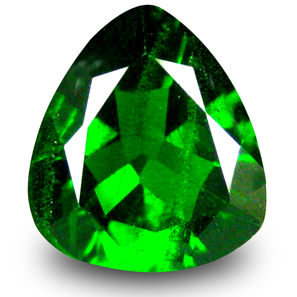 2.15 ct  Romantic Trillion Shape (9 x 9 mm) Green Chrome Diopside Natural Gemstone