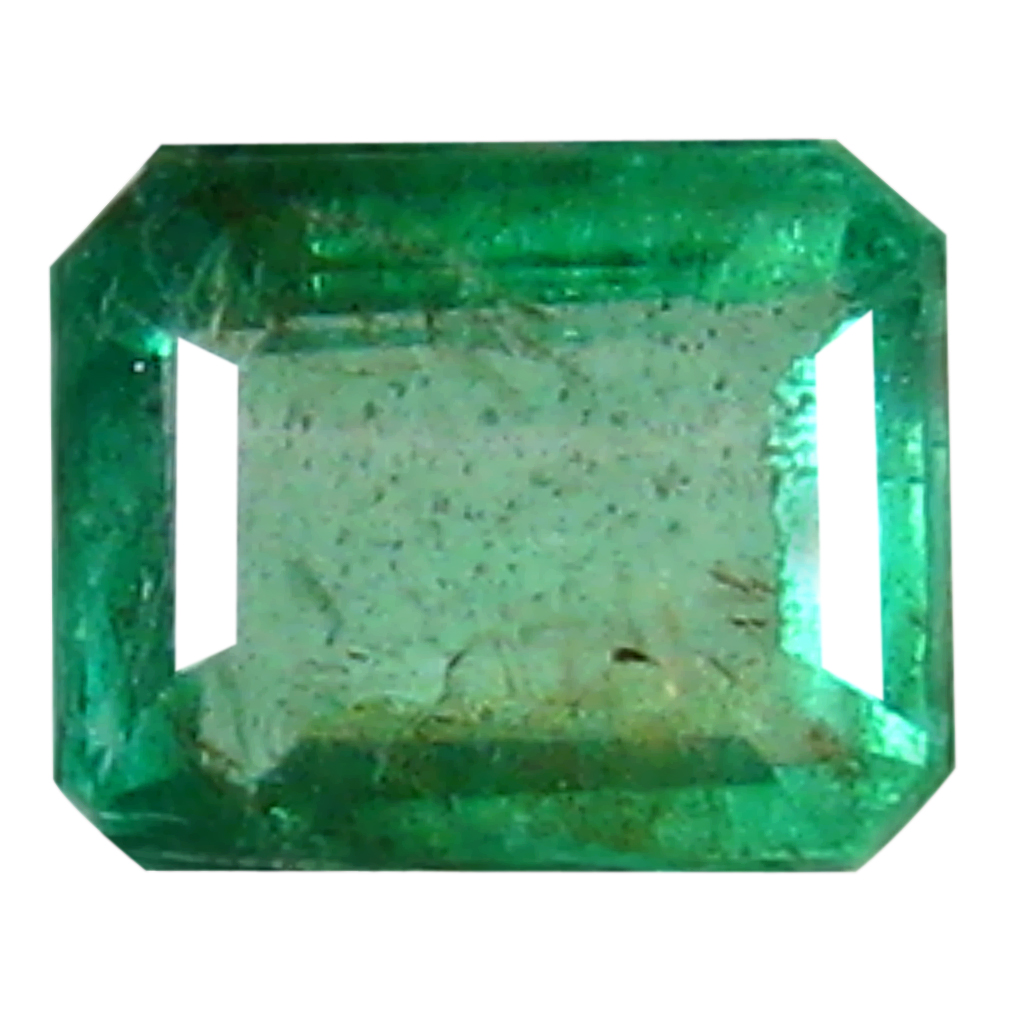 0.33 ct Mind-Boggling Octagon Cut (4 x 4 mm) Colombian Emerald Natural Gemstone
