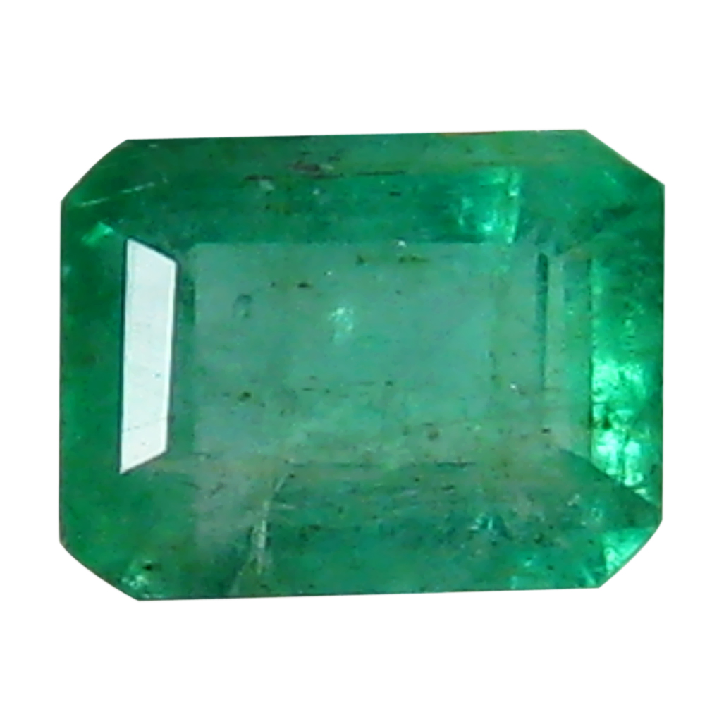 0.35 ct Eye-opening Octagon Cut (4 x 3 mm) Colombian Emerald Natural Gemstone