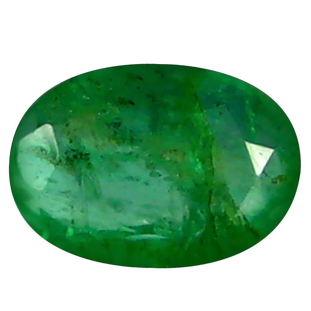 0.40 ct Lovely Oval Cut (6 x 4 mm) Green 100% Natural (Un-Heated) Emerald Natural Gemstone