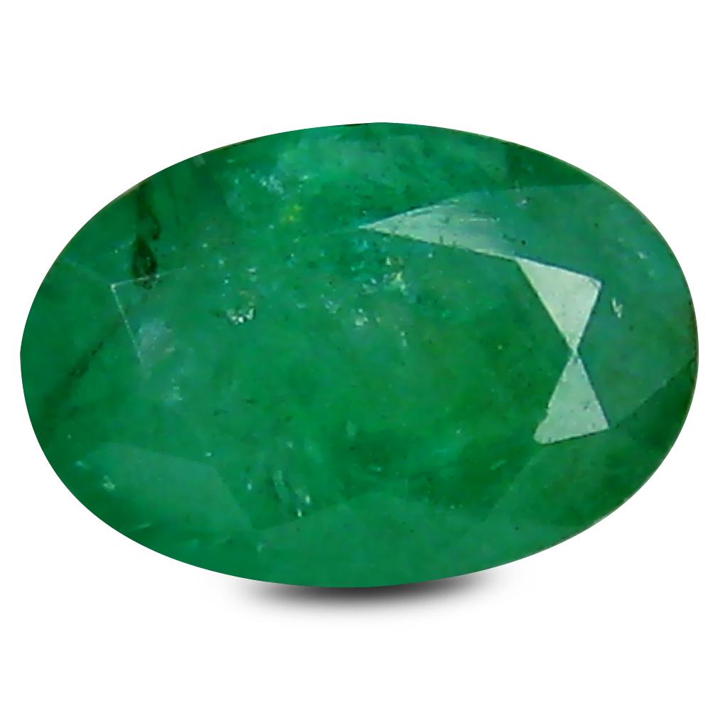 0.43 ct Astonishing Oval Cut (6 x 4 mm) Green 100% Natural (Un-Heated) Emerald Natural Gemstone